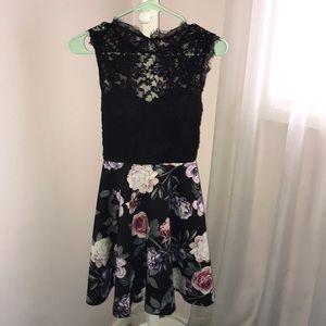 Flower Skater Dress!
